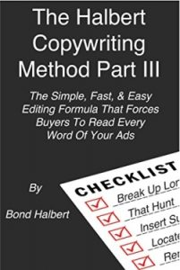 Bond Halbert Copywriting book