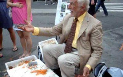 How A Potato Peeler Salesman Lived In Manhattan…